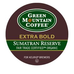 Green Mountain Coffee®  Sumatran Reserve Extra Bold Coffee K-Cups®