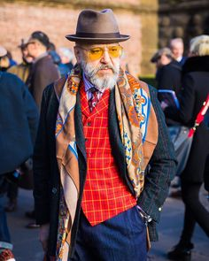 Man in color from New York Times Fashion & Style (@nytimesfashion) on Instagram