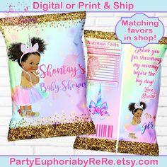 Mermaid Baby Showers, Unicorn Baby Shower, Baby Mermaid, Girl Shower, Unicorn Party, Baby Girl Princess, Baby Shower Princess, Unicorn Princess, Princess Theme