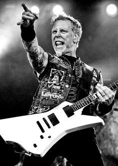 James Hetifield - Metallica...This Man Is SO Multi-Talented Can Tear That Guitar Up On Any Genre of Music...Love Him!!