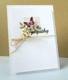 Stamping & Sharing: A Sympathy Card