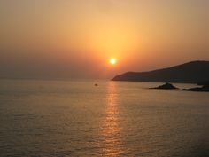 Tinos, Greece Tinos Greece, Celestial, Spaces, Sunset, Outdoor, Travel, Sunsets, Outdoors, Outdoor Games