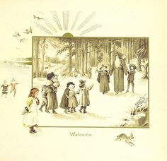 Image taken from page 9 of 'The Coming of Father Christmas' | by The British Library