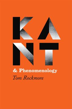 KANT & Phenomenology, Great cover —2010 : Isaac Tobin