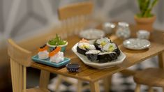 Tiny Sushi ~ Recipe | Tastemade