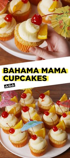 Get Ready For Summer With Bahama Mama CupcakesDelish