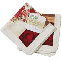 Bulk The Home Store Printed Cotton Dish Cloths, 2-ct. Packs at DollarTree.com