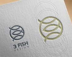 3 fish design Logo design - Perfect fish design. Price $450.00