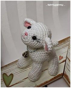 Mesmerizing Crochet an Amigurumi Rabbit Ideas. Lovely Crochet an Amigurumi Rabbit Ideas. Crochet Sheep, Easter Crochet, Crochet Patterns Amigurumi, Amigurumi Doll, Crochet Crafts, Crochet Dolls, Crochet Baby, Crochet Projects, Diy Crafts