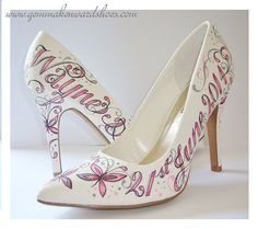 55 Painted Wedding Shoes Ideas Wedding Shoes Shoes Painted Shoes