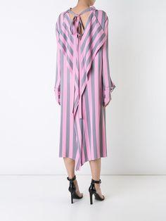 Monse платье-рубашка в полоску