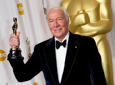 Oldest award winner At the age of 82, Christopher Plummer became the oldest person to win an Academy Award for Best Actor in a Supporting role for the film Beginners (2010).