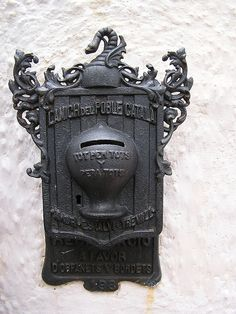 ~ Ornate Mailbox in Spain ~