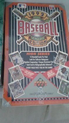 Upper Deck 1992 Box