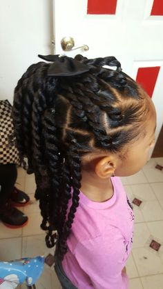 Natural Hairstyles for Black Girls Hair Style Girl little black girl hair styles Little Girl Braids, Black Girl Braids, Braids For Kids, Girls Braids, Hair Girls, Black Kids Hairstyles, Natural Hairstyles For Kids, Kids Braided Hairstyles, Toddler Hairstyles