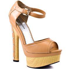 Cacia - Tan Matte  Bebe Shoes