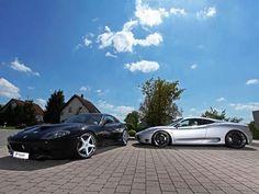 Tuning: Felgen für Ferrari 360 und 575 M von Schmidt Revolution #ferrari #f360 #f575m
