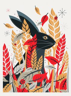 A selection off recent prints created with a wildlife theme. Go see the others.