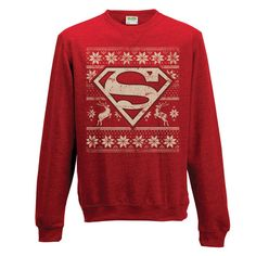 You can not tell me that this isn't something Ma Kent wouldn't make (and make Clark wear), for Christmas.