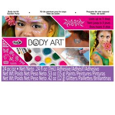 <div>Become a walking work of art to show for almost any occasion! This kit contains nature-them...