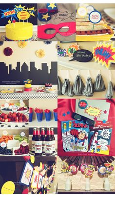 Super Hero Party! | MINNETTE D PHOTOGRAPHY | BLOG
