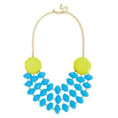 TOWNE & REESE JACKIE NECKLACE IN BLUE/TURQUOISE | LOCAL FIXTURE