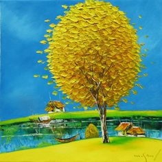 In the Autumn 02 by Vietnamese Artist Nguyen Minh Son