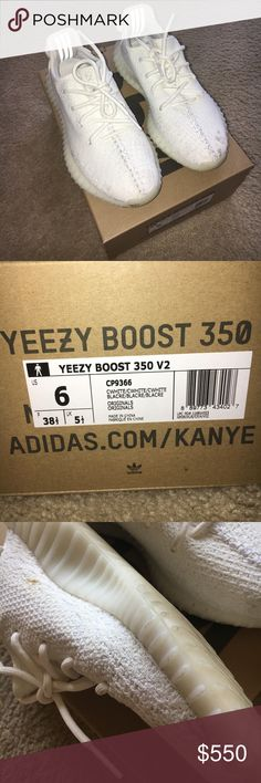 1814436d160d47 Adidas Yeezy Boost Authentic. Can provide emailed receipt. Worn a few  times