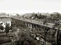 Viaduto do Chá em 1902