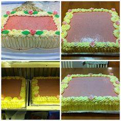 Liian hyvää: Mansikkamoussekakku 20:lle, 40:lle sekä 60 hengelle Food And Drink, Cake, Desserts, Tailgate Desserts, Deserts, Food Cakes, Cakes, Postres, Dessert