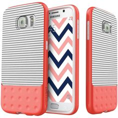 Caseology Samsung Galaxy S 6 Riot Series Case (white) #CASEOLOGY