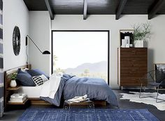 We've gathered our favorite swatches from a year's worth of hue-happy rooms. See the top paint colors for Chambray, Top Paint Colors, Home Decor Sites, Bed Tray, King Sheet Sets, Bed Reviews, Full Bed, Home Decor Bedroom, Men's Bedroom Design