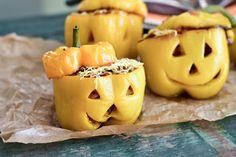 Fitt fazék kultúrblog : Halloween. Töltött paprika lámpások. (vegán)