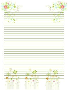 Printable Stationary - Journal page - letter