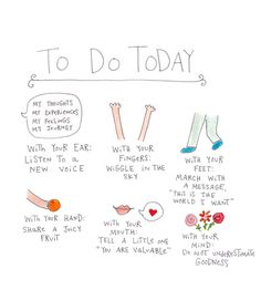 Everyday Checklist  