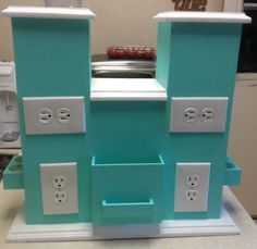 Custom Handmade Multi Level Warmer Party Display Scentsy Warmer 6 Plug Outlets in Home & Garden, Home Décor, Candle Holders & Accessories   eBay