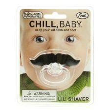 Mustache Pacifier http://www.becauseordinarysucks.com/mustache-pacifier/