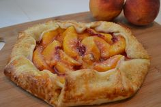 Menus and Meals for Moms: Quick and Easy Rustic Peach Tart  Incredibly Easy - Crazy Good!