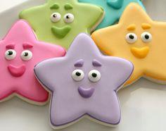 Google Image Result for http://www.sweetsugarbelle.com/blog/wp-content/uploads/2013/02/Dora-The-Explorer-Star-Cookies.jpg