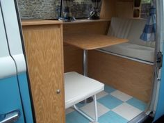 VW T2 Bay window Camper van interior furniture LHD or RHD Units Volkswagen