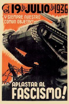 Spain - 1936. - GC - poster - artist: Fontsere
