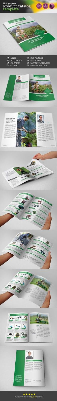 Product Catalog Brochure | Template Market