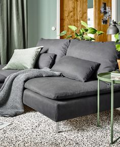 Tips That Help You Get The Best Leather Sofa Deal. Leather sofas and leather couch sets are available in a diversity of colors and styles. A leather couch is the ideal way to improve a space's design and th Ikea Living Room, Living Room Photos, Cozy Living Rooms, Apartment Living, Sofa Deals, Best Leather Sofa, Gravity Home, Couch Set, Lounge Areas