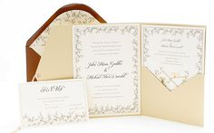 tarjetas de matrimonio elegantes - Buscar con Google
