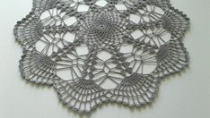 Handmade Grayslake 12 inch doily Lightly starched cotton purchased in Czech Republic (Snehurka) Lace Doilies, Crochet Doilies, Crochet Round, Blue Lace, White Cotton, Table Decorations, Handmade, Foods, Etsy