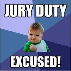 42 Best Jury Duty images in 2016 | Jury duty, Humor:__cat__, Laughing