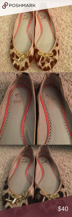 CIRCUS BY SAM EDELMAN Celyn Studded Lace-Up Ballet Flat L8M9ww1