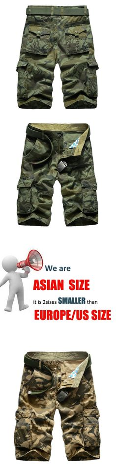 2017 Summer men's casual shorts camouflage shorts men's tide men's bags large size men free shipping