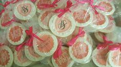 Victoria secret pink logo cookies www.facebook.com/carinaedolce www.Carinaedolce.com #carinaedolce Logo Cookies, Cookie Favors, Sugar Cookies, Victoria's Secret Pink, Victoria Secret, Facebook, Party, How To Make, Victoria Secrets