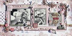 Forever Friends with clean, soft colour palette and floral elements you will be able create a beautiful layout memories you and your 'bestie' have Scrapbook Pages, Scrapbooking Layouts, Soft Colors, Friends Forever, Besties, Gallery Wall, Palette, Frame, Floral